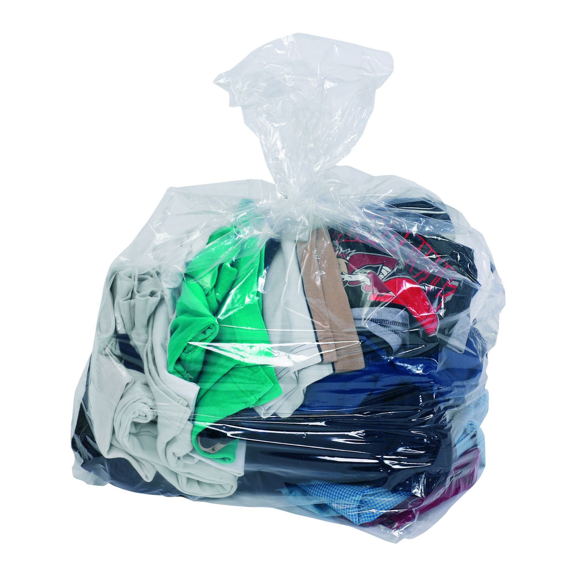 Clear & Coloured Refuse Sacks - Clear