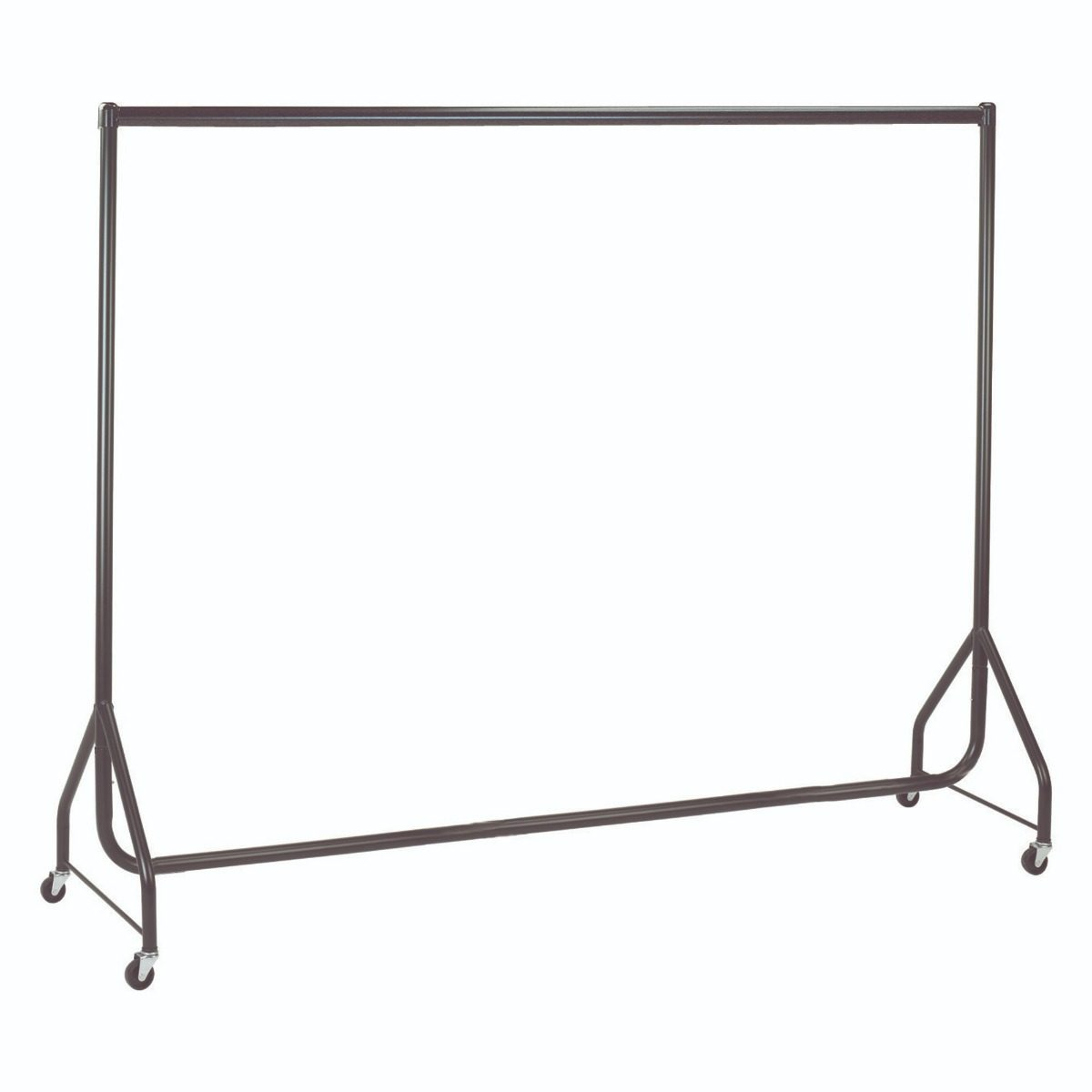 Black Heavy Duty Clothes Rails - L 6ft x H 5ft