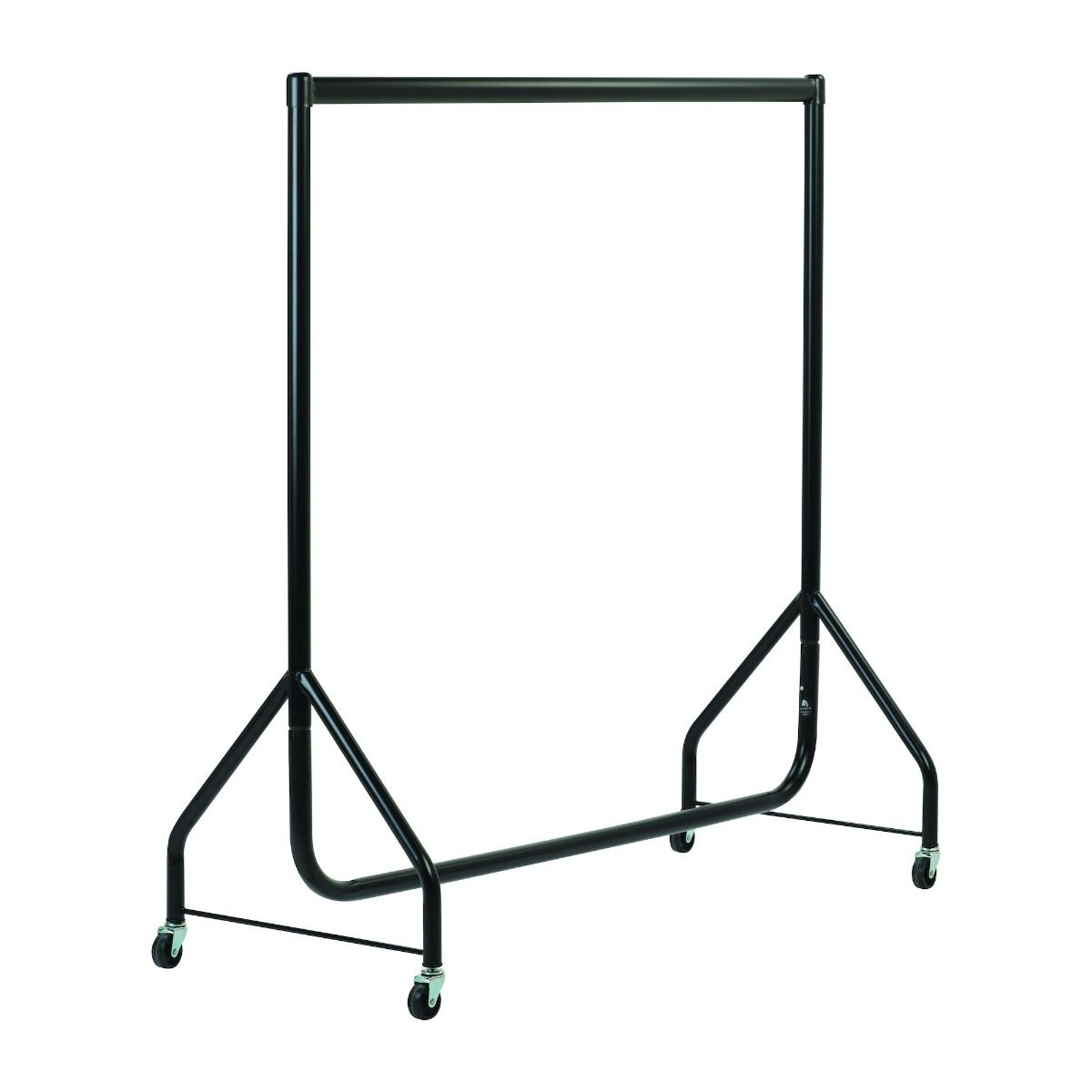 Black Heavy Duty Clothes Rails - L 4ft x H 4ft