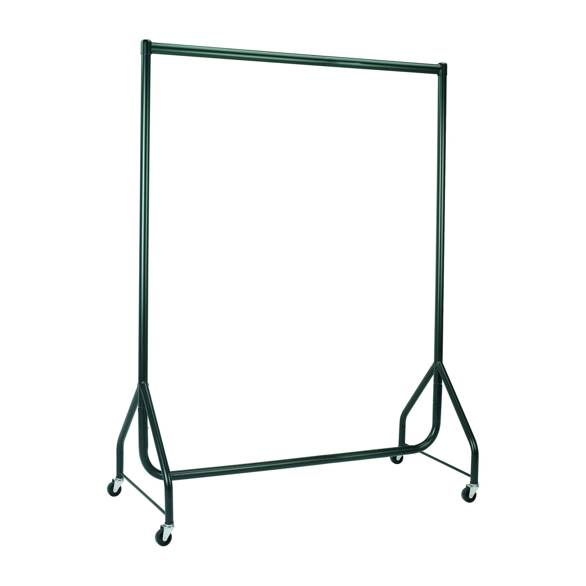 Black Heavy Duty Clothes Rails - L 4ft x H 5ft