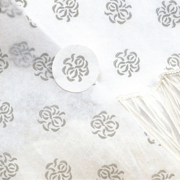 Floral Tissue Paper With Seal