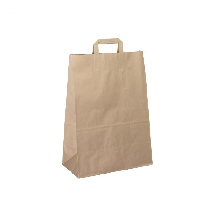 Flat Handle Paper Carrier Bags