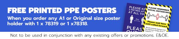 FREE PPE Posters