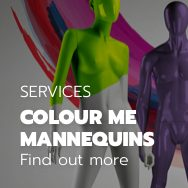 Respray your mannequin in any colour