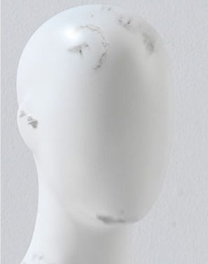 Mannequin Repairs - Chips to facial features